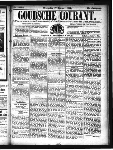 Goudsche Courant 1917-01-17