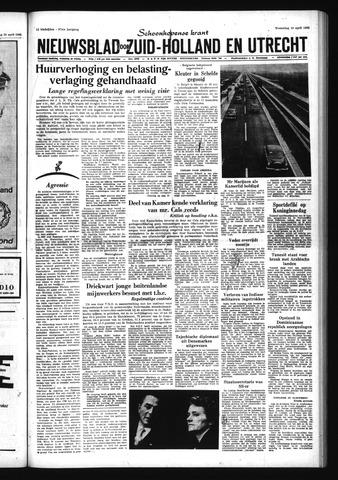 Schoonhovensche Courant 1965-04-28