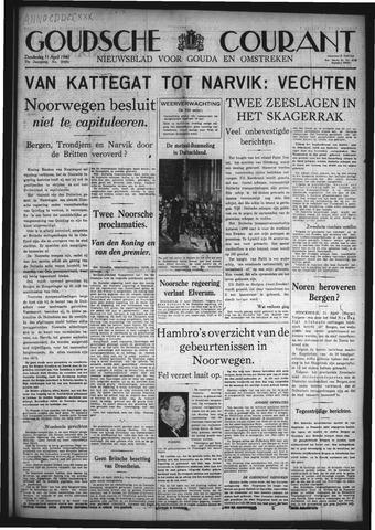 Goudsche Courant 1940-04-11