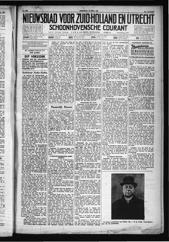 Schoonhovensche Courant 1930-04-16