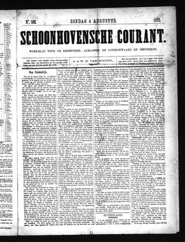 Schoonhovensche Courant 1872-08-04