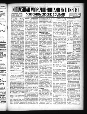 Schoonhovensche Courant 1947-02-14