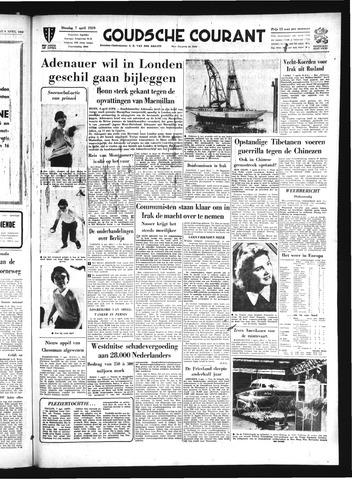 Goudsche Courant 1959-04-07