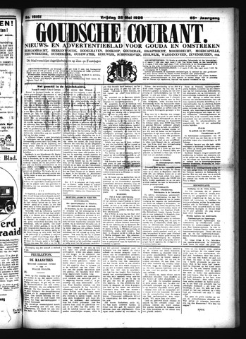 Goudsche Courant 1926-05-28