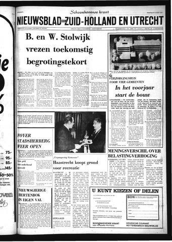 Schoonhovensche Courant 1973-11-26