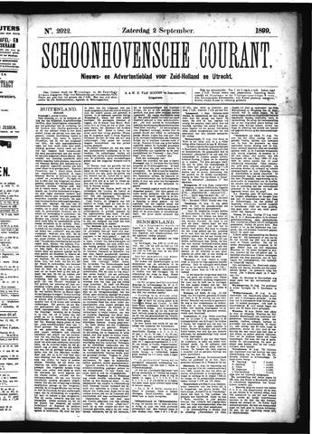 Schoonhovensche Courant 1899-09-02
