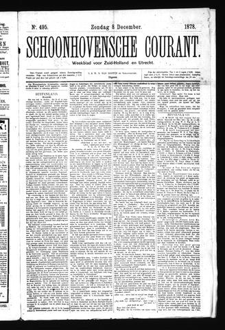 Schoonhovensche Courant 1878-12-08