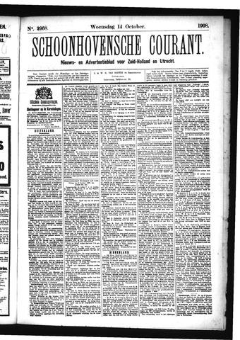 Schoonhovensche Courant 1908-10-14