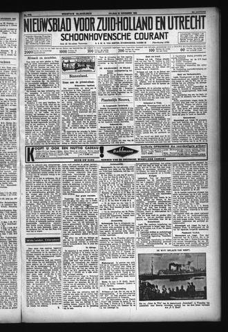 Schoonhovensche Courant 1932-11-25