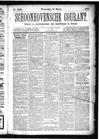 Schoonhovensche Courant 1913-03-19