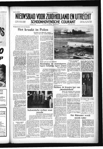 Schoonhovensche Courant 1956-10-22