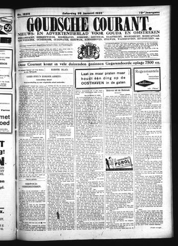 Goudsche Courant 1935-01-26