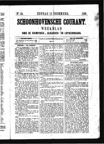 Schoonhovensche Courant 1869-12-12