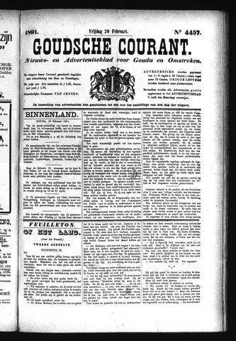 Goudsche Courant 1891-02-20