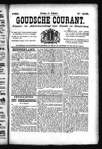 Goudsche Courant 1890-02-18