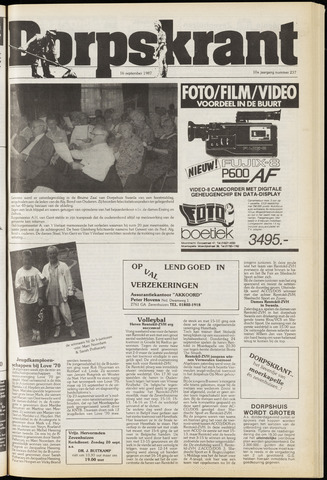 Dorpskrant 1987-09-16