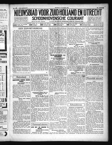 Schoonhovensche Courant 1936-11-16