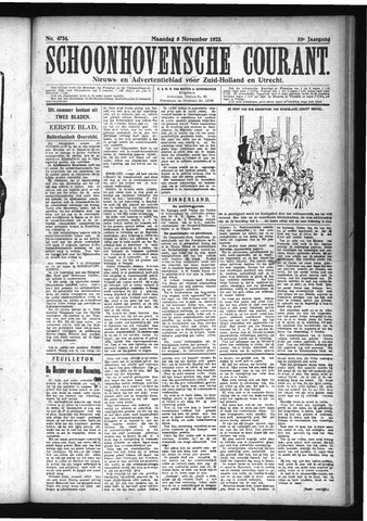 Schoonhovensche Courant 1923-11-05