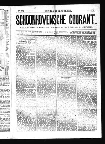 Schoonhovensche Courant 1875-09-26