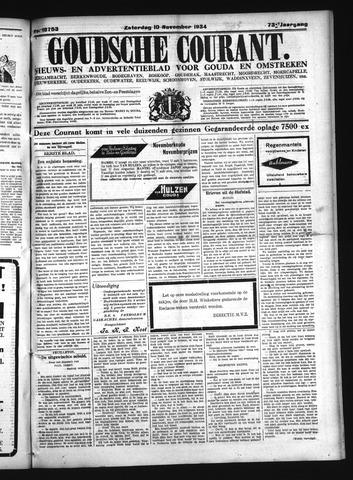 Goudsche Courant 1934-11-10