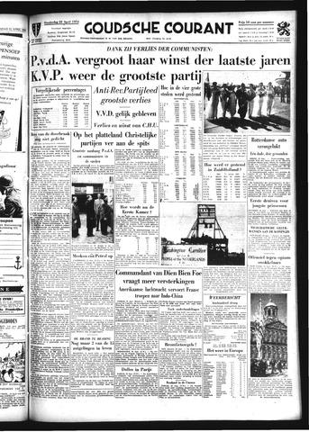 Goudsche Courant 1954-04-22