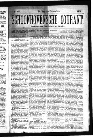 Schoonhovensche Courant 1878-12-29