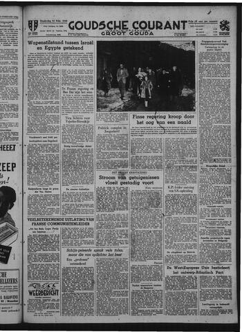 Goudsche Courant 1949-02-24