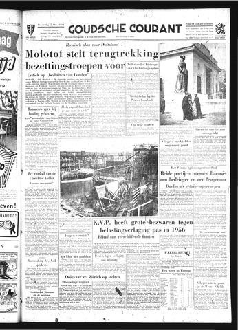 Goudsche Courant 1954-10-07