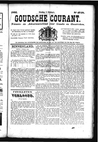 Goudsche Courant 1892-02-02