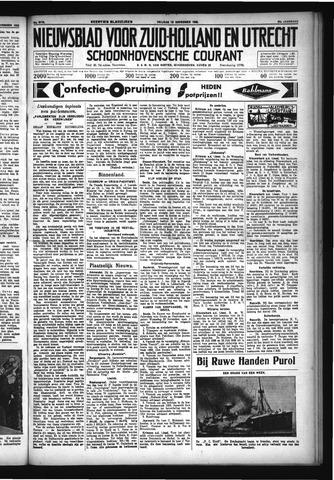 Schoonhovensche Courant 1932-11-18