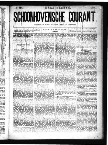 Schoonhovensche Courant 1876-01-16