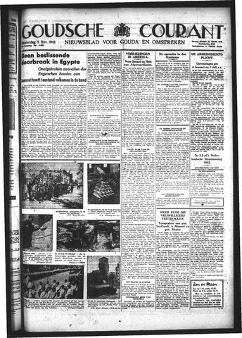 Goudsche Courant 1942-11-05