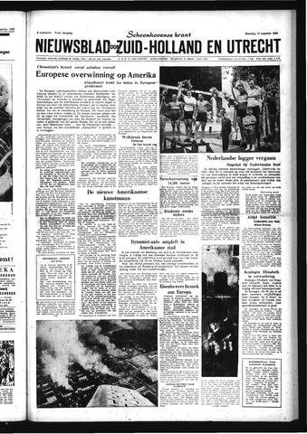 Schoonhovensche Courant 1959-08-10
