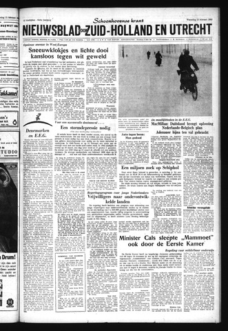 Schoonhovensche Courant 1963-02-13