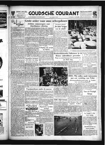 Goudsche Courant 1952-04-01