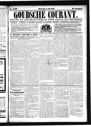 Goudsche Courant 1923-07-09