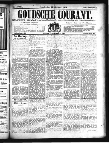Goudsche Courant 1914-10-22