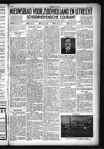 Schoonhovensche Courant 1932-05-15