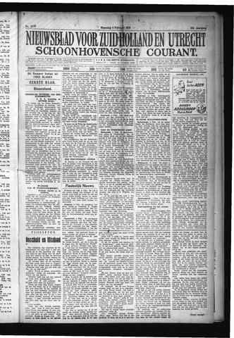 Schoonhovensche Courant 1929-02-04