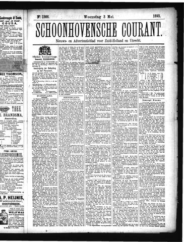 Schoonhovensche Courant 1893-05-03