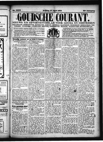 Goudsche Courant 1923-04-27