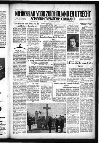 Schoonhovensche Courant 1954-05-05