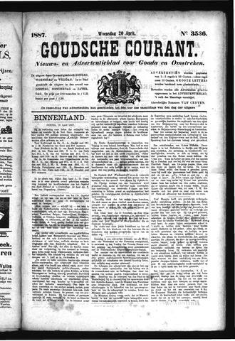 Goudsche Courant 1887-04-20