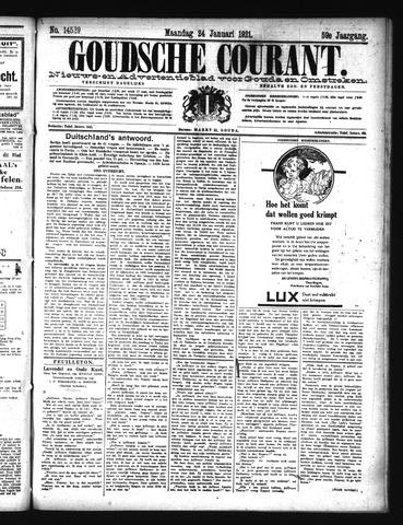 Goudsche Courant 1921-01-24