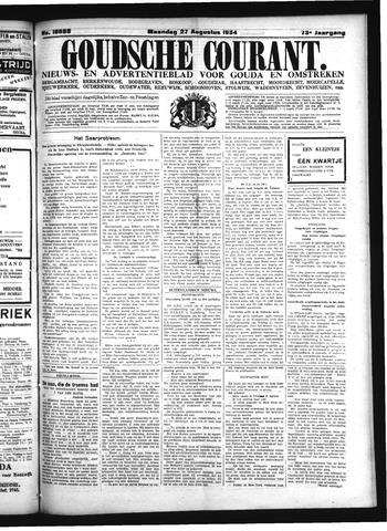Goudsche Courant 1934-08-27