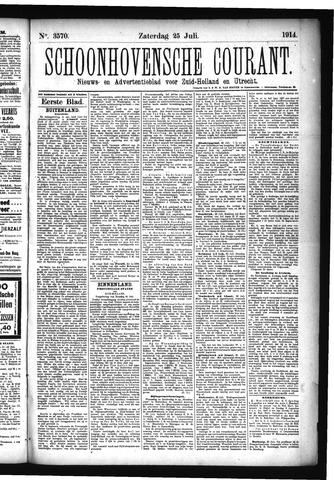 Schoonhovensche Courant 1914-07-25