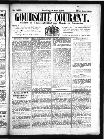Goudsche Courant 1900-06-09