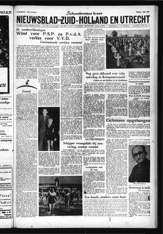 Schoonhovensche Courant 1962-06-01