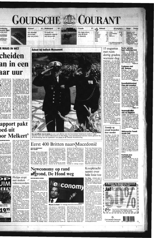 Goudsche Courant 2001-08-16