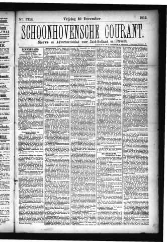 Schoonhovensche Courant 1915-12-10
